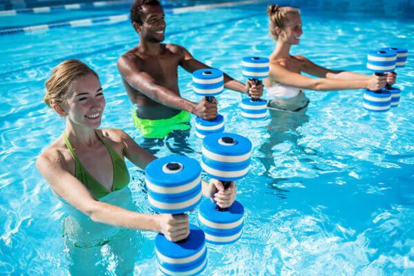 réveil musculaire aquatique