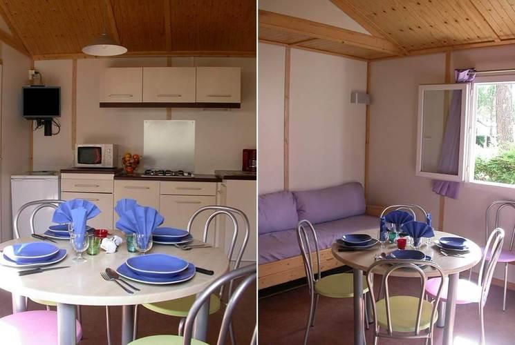 Hébergement classique 3 chambres 6 personnes L'estanquet