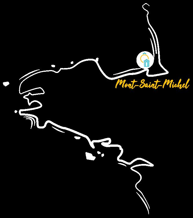 Carte pour situer le camping