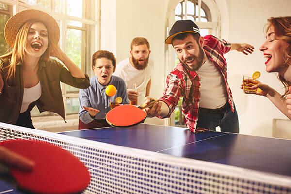 pétanque et ping-pong