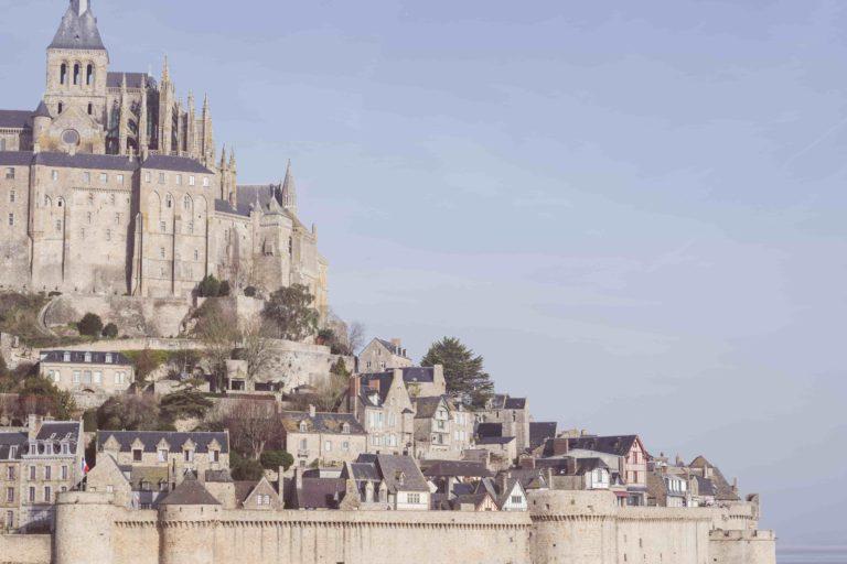 vue du Mont-Saint-Michel en Normandie